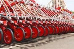 农业机器特写镜头 免版税库存图片