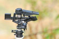 农业灌溉喷雾器 免版税图库摄影
