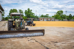 农业的拖拉机 图库摄影