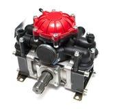 农业膜片零件泵备件喷雾器 免版税库存照片