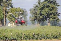 农业航空器 免版税库存照片