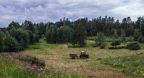 农业衰落和危机的作用 库存图片