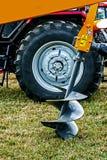 农业设备。细节111 库存图片
