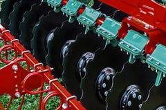 农业设备。细节161 免版税库存图片
