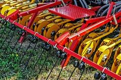 农业设备。细节110 免版税库存图片