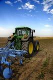 农业设备现代拖拉机 图库摄影