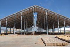 农业设施的建筑 免版税库存照片