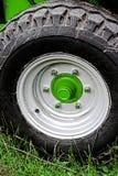 农业轮子汽车 库存照片