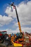 农业轮子装载者 秋明州 俄国 免版税图库摄影