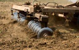 农业部分拖拉机 库存图片