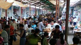 农产品市场在乡区 免版税图库摄影