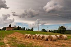 农厂房子 库存图片