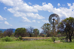 农厂泵风 库存图片