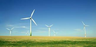 农厂涡轮风 免版税库存图片