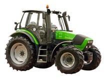 农厂绿色拖拉机 库存照片
