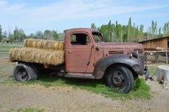 农厂老卡车 库存图片