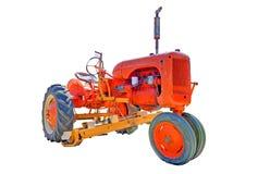 农厂老拖拉机 免版税库存图片