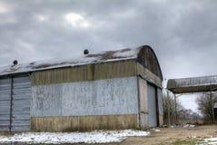 农厂附属建筑 库存照片