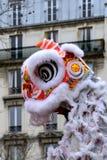 14/02/2018 - 农历新年党在巴黎 免版税库存照片