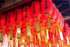 农历新年在台湾 库存图片