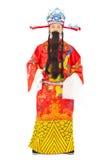 农历新年!财富份额财宝和繁荣的神 免版税库存照片