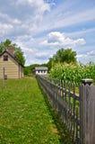 农场印第安纳 免版税库存图片
