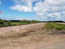 农场土地河滩地和平 免版税库存图片