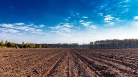 农场土地 免版税库存照片