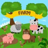 农场 免版税库存图片