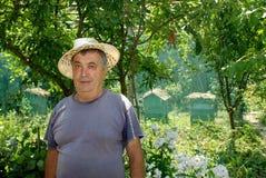 农夫。 图库摄影