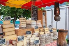 农夫乳酪 免版税库存图片