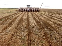农夫准备机器 库存图片