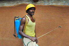 农夫印地安人 免版税库存图片