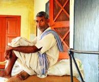 农夫在印度 免版税库存图片