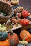 农夫市场物品显示 免版税图库摄影
