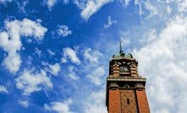 农夫市场钟楼,克利夫兰,俄亥俄 免版税图库摄影