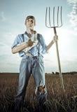 农夫年轻人 免版税库存照片