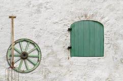 农夫的之家墙壁 库存图片