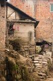 农村中国的房子 库存照片