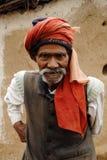 农村印度的人 免版税图库摄影