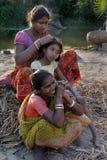 农村印度的生活 免版税库存图片