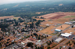 农村场面,华盛顿州 免版税图库摄影