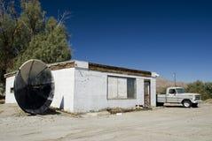 农村大厦的沙漠 免版税库存照片