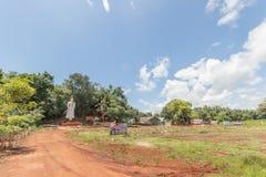 农村寺庙在泰国 免版税库存照片