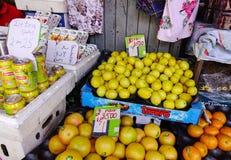 农村市场在Mahebourg,毛里求斯 免版税库存照片
