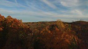 农村康涅狄格镇看法在秋天 影视素材
