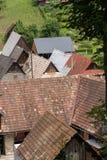 农村建筑学在乡下 免版税库存照片