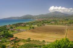农村意大利的横向 免版税库存图片