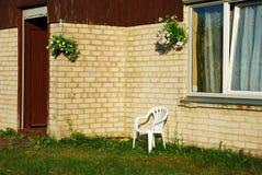 农村房子详细资料 免版税库存图片