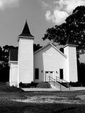 农村教会 库存照片
